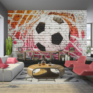 Papier Peint Panoramique Street football