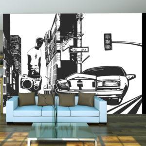 Papier Peint Panoramique Style urbain