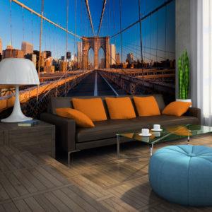 Papier Peint Panoramique Sur le chemin de Manhattan