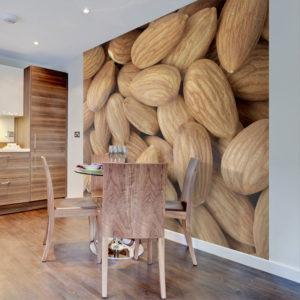 Papier Peint Panoramique Tasty almonds