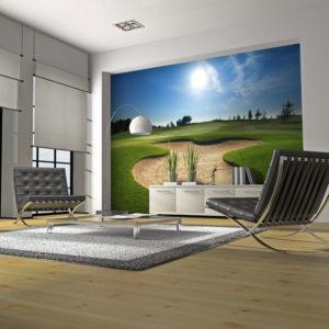 Papier Peint Panoramique Terrain de golf