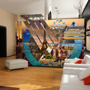 Papier Peint Panoramique The world ...