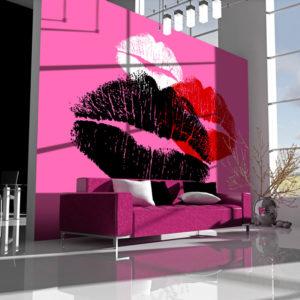 Papier Peint Panoramique Trois baisers