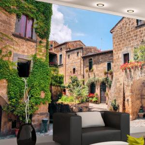 Papier Peint Panoramique Tuscan alley
