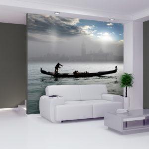 Papier Peint Panoramique Un petit tour en gondole à Venise