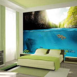 Papier Peint Panoramique Under the waterline