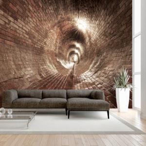 Papier Peint Panoramique Underground Corridor
