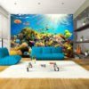 Papier Peint Panoramique Underwater Land