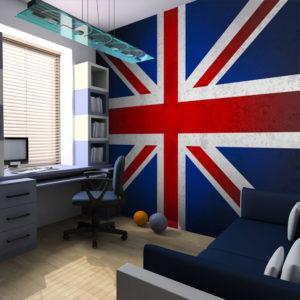 Papier Peint Panoramique Union Jack