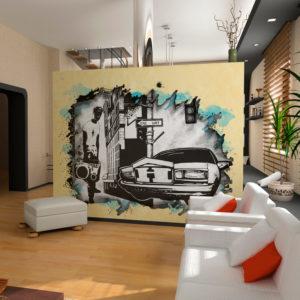 Papier Peint Panoramique Urban atmosphere