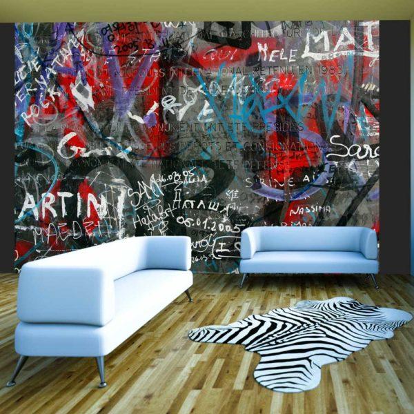Papier Peint Panoramique Urban graffiti