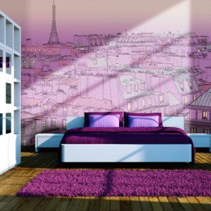 Papier Peint Panoramique Vendredi soir à Paris