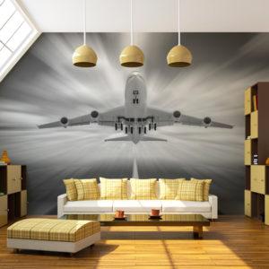 Papier Peint Panoramique Vers les nuages