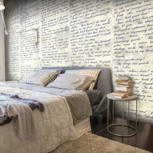 Papier Peint Panoramique Verses of Love (Romeo & Juliet)