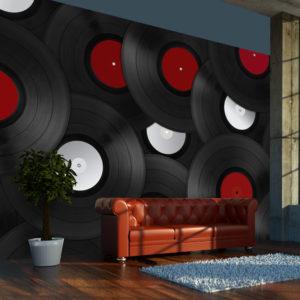 Papier Peint Panoramique Vinyls: Retro