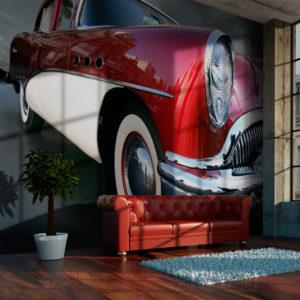 Papier Peint Panoramique Voiture de luxe américaine