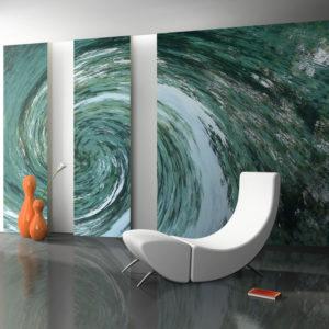 Papier Peint Panoramique Water twist