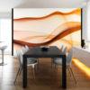 Papier Peint Panoramique Waving trails