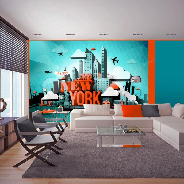 Papier Peint Panoramique Welcome New York