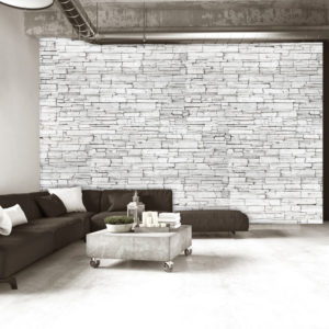 Papier Peint Panoramique White Brick