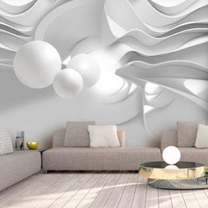 Papier Peint Panoramique White Corridors