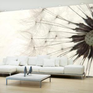 Papier Peint Panoramique White Dandelion