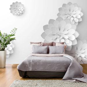 Papier Peint Panoramique White Garden