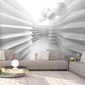 Papier Peint Panoramique White Maze