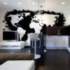 Papier Peint Panoramique White continents