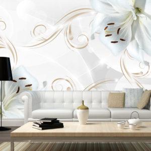Papier Peint Panoramique White dancers