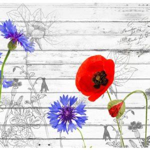 Tapisserie murales Fleurs > Prairie