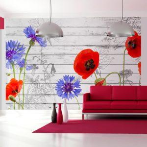 Papier Peint Panoramique Wildflowers