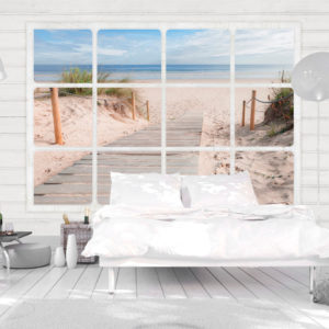 Papier Peint Panoramique Window & beach