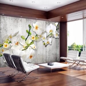 Papier Peint Panoramique With saffron accent
