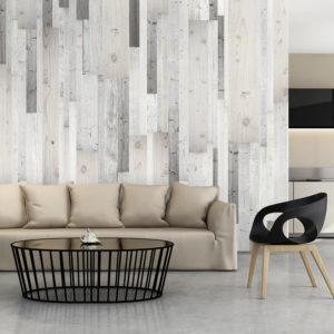 Papier Peint Panoramique Wooden Cover