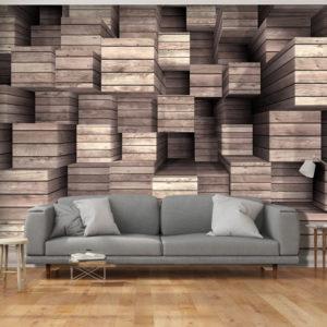 Papier Peint Panoramique Wooden Finesse