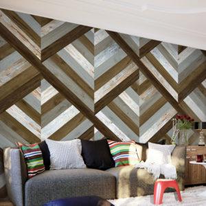 Papier Peint Panoramique Wooden Trap