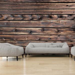 Papier Peint Panoramique Wooden Warmth