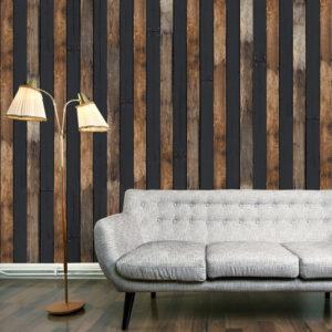 Papier Peint Panoramique Wooden duo