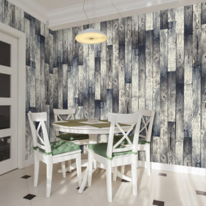 Papier Peint Panoramique Wooden floor: gradient