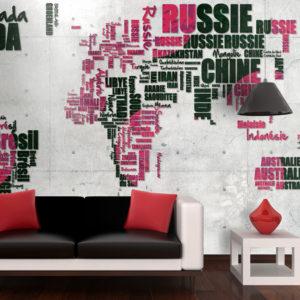 Papier Peint Panoramique World of travel