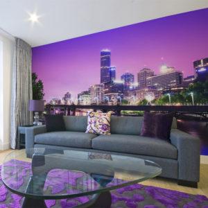 Papier Peint Panoramique Yarra river - Melbourne