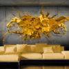 Papier Peint Panoramique Yellow Splash