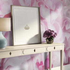 Papier Peint Panoramique azalée (rose)