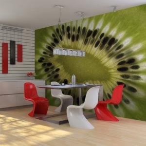 Papier Peint Panoramique fruits: kiwi