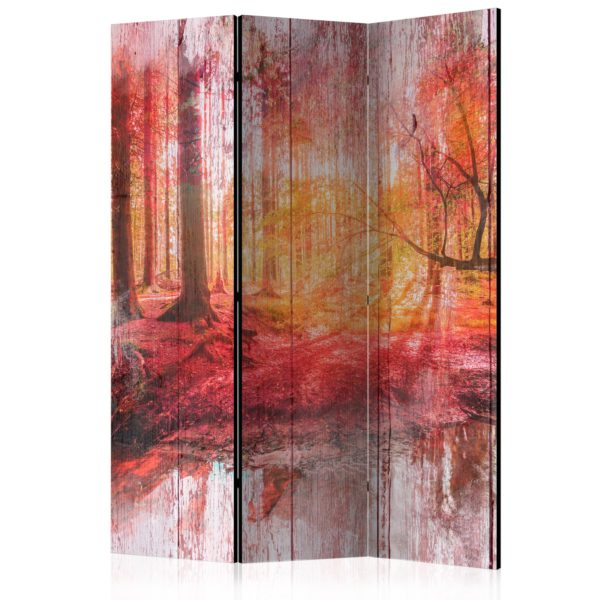 Paravent 3 volets - Autumnal Forest