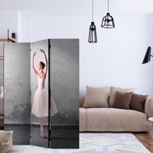 Paravent 3 volets - Ballerina in Degas paintings style séparateur de piece