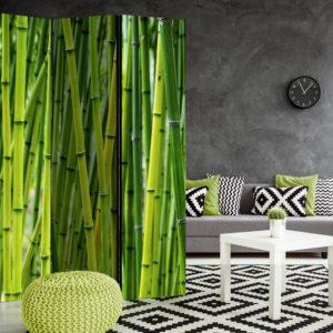 Paravent 3 volets - Bamboo Forest séparateur de piece