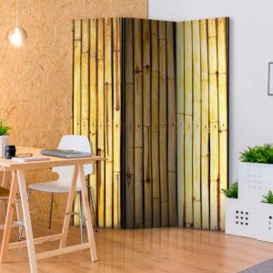 Paravent 3 volets - Bamboo Garden séparateur de piece