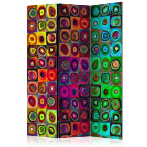 Paravent 3 volets - Colorful Abstract Art
